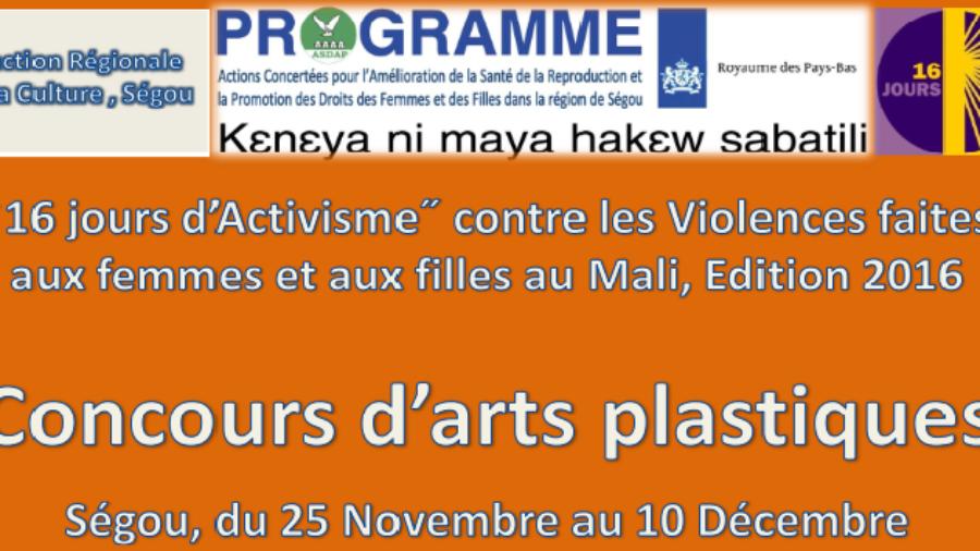 concours art plastique